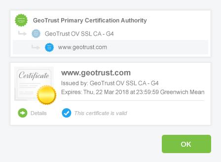 ov ssl sertifika